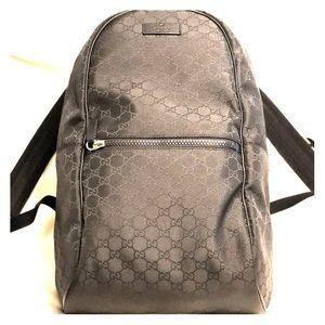 Guccissima Nylon Backpack (Large)